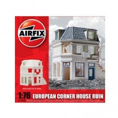 Maquette Ruines de guerre : European Corner House Ruin