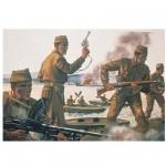 Figurines 2ème Guerre Mondiale : Commandos Britanniques 1:72