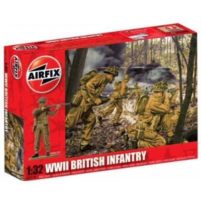 Figurines 2ème Guerre Mondiale : Infanterie Britannique 1/32 - Airfix-02718