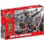 Figurines 2ème Guerre Mondiale : Parachutistes Américains 1/32