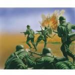 Figurines soldats 2ème Guerre Mondiale : Infanterie Allemande