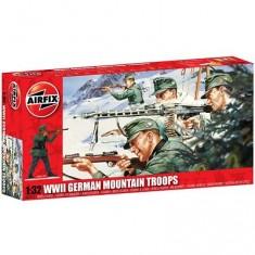 Figurines 2ème Guerre Mondiale : Troupes de montagne allemandes