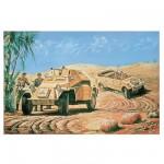 Maquettes véhicules militaires: German Reconnaissance Set: SD.KFZ.222 & Kubelwagon