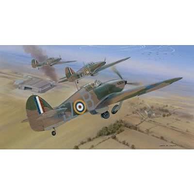 Maquette avion: Hawker Hurricane Mk 1 - Airfix-04102