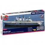 Maquette bateau: Model Kit: Porte-avions HMS Illustrious