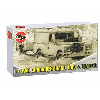Maquette LWB Landrover and Trailer - Airfix-02324