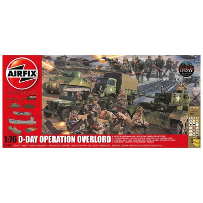 Maquette : Reconstitution d'une bataille : D-Day Operation Overlord : 1:72 - Airfix-50162