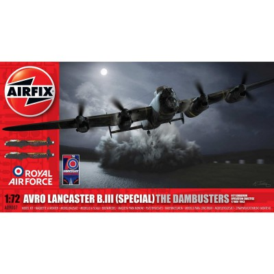 Maquette avion : Avro Lancaster B.III (Special) The Dambusters - Airfix-09007