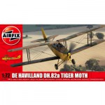 Maquette avion : De Havilland DH.82a Tiger Moth Jaune