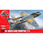 Maquette avion : De Havilland Vampire T.11