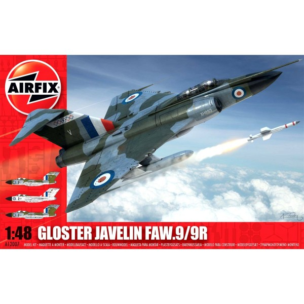 Maquette avion : Gloster Javelin FAW.9/9R - Airfix-12007