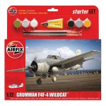 Maquette avion : Grumman F4F-4 Wildcat Starter Set