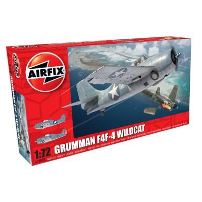 Maquette avion : Grumman Wilcat F4F-4 - Airfix-02070