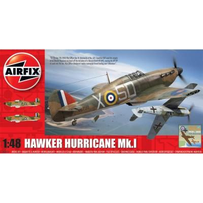 Maquette avion : Hawker Hurricane Mk1 - Airfix-05127
