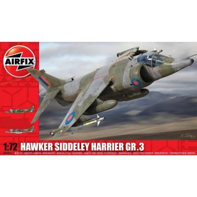 Maquette avion : Hawker Siddeley Harrier GR3 - Airfix-04055