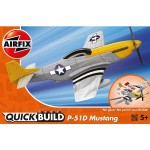 Maquette avion : Quick Build : Mustang P-51D