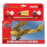 Maquette avion : Starter Set : De Havilland DH.82a Tiger Moth