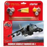 Maquette avion : Starter Set : Hawker Siddeley Harrier GR.1