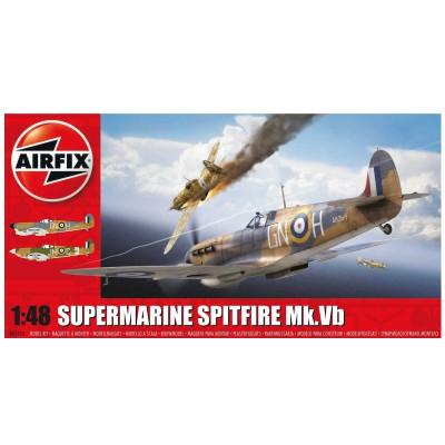 Maquette avion : Supermarine Spitfire MkVb : 1:48 - Airfix-05125