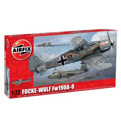 Maquette avion: Fock Wulf Fw 190A - Airfix-01020