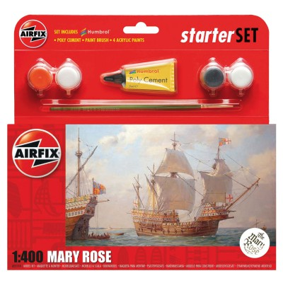 Maquette beateau : Mary Rose - Airfix-55114
