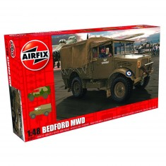 Maquette camion : Bedford MWD