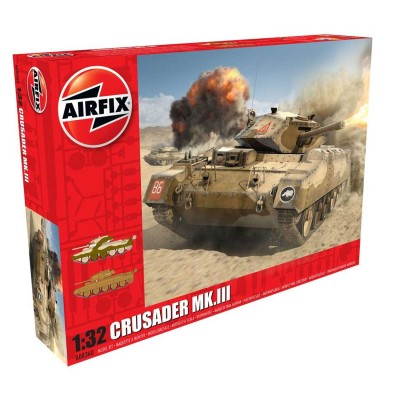Maquette char : Crusader MkIII Tank - Airfix-08360