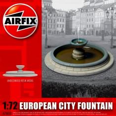 Maquette Fontaine de ville européeenne