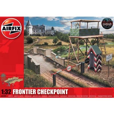 Maquette Point de contrôle de frontière 1/32 - Airfix-06383