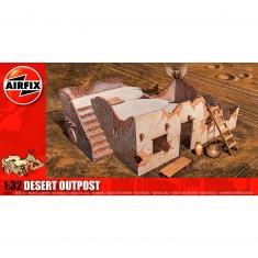 Maquette Ruines de guerre : Poste avancé du désert