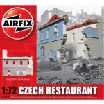 Maquette Ruines de guerre : Restaurant tchèque