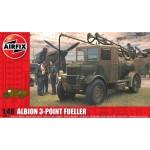 Maquette véhicule miitaire : Albion AM463 3-Point Fueller