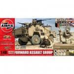 Maquette véhicule militaire et figurines : Gift Set : British Forces Forward Assault Group