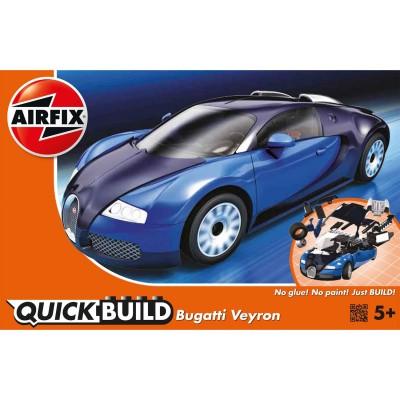 Maquette voiture : Quick Build :Bugatti Veyron 16.4 - Airfix-J6008