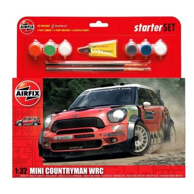 Maquette voiture : Starter Set : MINI Countryman WRC - Airfix-55304