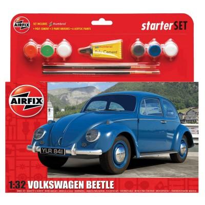 Maquette voiture : VW Beetle : Starter Set : 1:32 - Airfix-55207