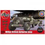 Maquette voiture : Willys British Airborne Jeep