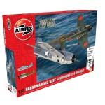 Maquettes avions : Nakajima B5N2 'Kate' et Grumman Wildcat F4F4 Dogfight