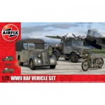 Maquettes véhicules militaires : WWII RAF Vehicle Set