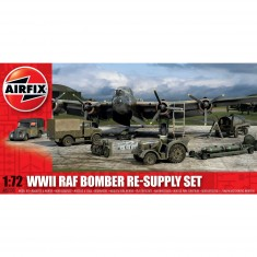 Maquettes véhicules militaires et accessoires : WWII RAF Bomber Re-supply Set