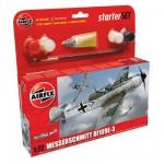 Maquette avion: Starter Set: Messerchmitt Bf109E