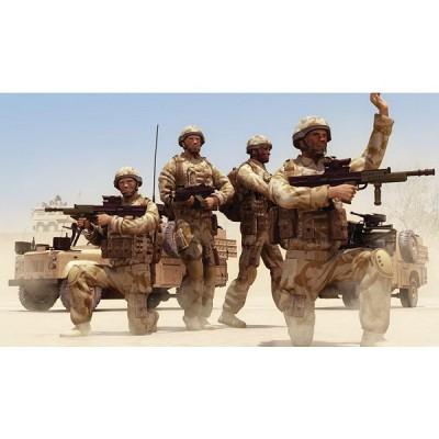Figurines militaires: Patrouille britannique Afghanistan - Airfix-03701