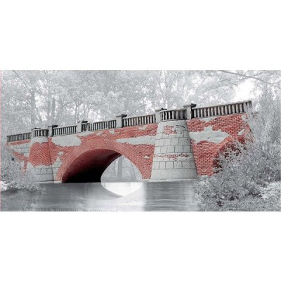 Maquette Pont : Narrow Road Bridge : Full Span - Airfix-75011