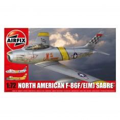 Maquette avion: North American F-86F Sabre