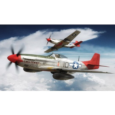 Maquette avion: North American P-51D Mustang - Airfix-01004