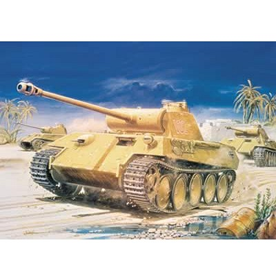 Maquette Char: Panther Tank - Airfix-01302