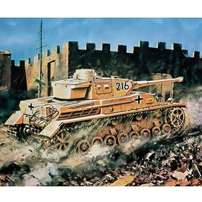 Maquette Char: Panzer IV Tank - Airfix-02308