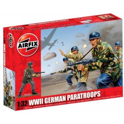 Figurines 2ème Guerre Mondiale : Parachutistes allemands - Airfix-02712