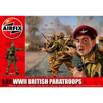 Figurines 2ème Guerre Mondiale : Parachutistes Britanniques - Airfix-02701