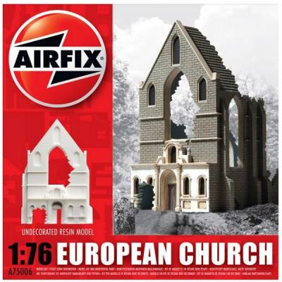 Maquette Ruines de guerre : European Church Ruin - Airfix-75006